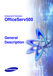 Samsung OfficeServ500 General Description Manual