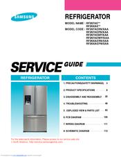 SAMSUNG RF267AE SERIES SERVICE MANUAL Pdf Download
