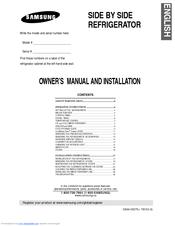 samsung rs2577 manuals rh manualslib com Order Parts for Samsung Refrigerator Samsung French Door Refrigerator Parts