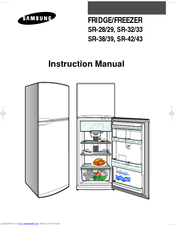 samsung fridge freezer instruction booklet
