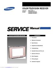 samsung cs29a6wt8x bwt service manual pdf download rh manualslib com Samsung Parts List Samsung Owners ManualDownload