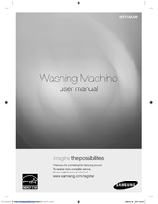 samsung wf419aaw 4 3 cu ft front load washer manuals rh manualslib com samsung front load washer manual wf218anw/xaa samsung front load washer manual wf-j1254