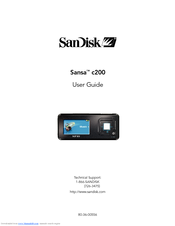 sandisk c240 sansa 1 gb digital player manuals rh manualslib com SanDisk Sansa User Manual sandisk sansa clip+ 4gb mp3 player user manual