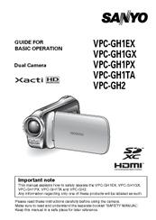 sanyo xacti vpc gh2 manuals rh manualslib com sony camera manuals sony camera manuals online