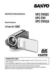 sanyo vpc th1gx manuals rh manualslib com