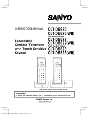 Sanyo CLT-D6620 Instruction Manual