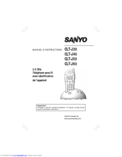 Sanyo CLT-J30 Manuel D'instructions
