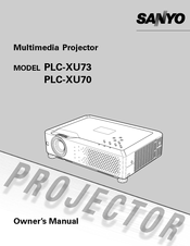 sanyo xu75 service manual