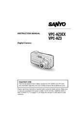 sanyo vpc az3ex manuals rh manualslib com