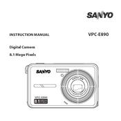 sanyo vpc e890 manuals rh manualslib com