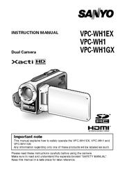 sanyo xacti vpc wh1 manuals rh manualslib com Kindle User Guide iPod Nano User Guide