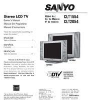 sanyo clt2054 manuals rh manualslib com sanyo vizon clt1554 manual sanyo vizon 42 manual