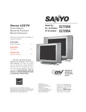 sanyo clt2054 manuals rh manualslib com Sanyo Vizon HDTV Sanyo Vizon 32