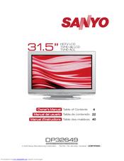 we have 4 sanyo dp32649 - 32