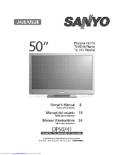 Sanyo DP50741 Owner's Manual