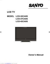 sanyo lcd 42ca9s manuals rh manualslib com Sanyo Vizon HDTV 42 Sanyo TV Manual