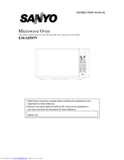 sanyo em s5597b instruction manual pdf download rh manualslib com