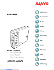 Sanyo POA-LN02 Owner's Manual