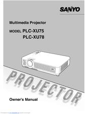sanyo plc xu78 manuals rh manualslib com sanyo plc-xu78 manual Sanyo Projector