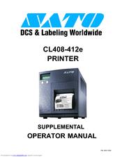 sato cl412e manuals rh manualslib com User Guide Icon Quick Reference Guide