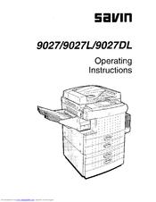 savin 9027 manuals rh manualslib com savin c9130 user manual savin 917 user manual