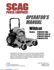 scag power equipment wildcat smwc 61v manuals rh manualslib com scag tiger cat 2 service manual Scag Mower Parts