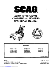 scag technical manual user guide manual that easy to read