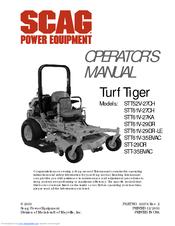 scag power equipment turf tiger stt61v 35bvac manuals rh manualslib com Scag Mower Electrical Troubleshooting scag turf tiger repair manual