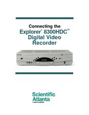 explorer 8300 hook up