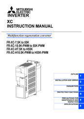 Mitsubishi Electric FR-XC-7.5K Instruction Manual