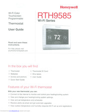 Honeywell RTH9585 Wi-Fi User Manual
