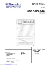 Electrolux EDR 2000 Service Manual
