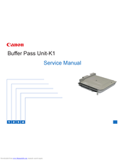 Canon K1 Service Manual