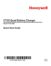 Honeywell CT50-QBC Quick Start Manual