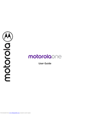 Motorola Moto Z3 Play User Manual