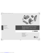 Bosch 1 270 020 502 Original Instructions Manual