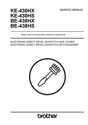 brother KE-430HX Service Manual