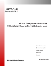 Hitachi Compute Blade 2500 Installation Manual