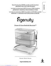 Ingenuity Dream & Grow Bedside Bassinet Manuals   ManualsLib