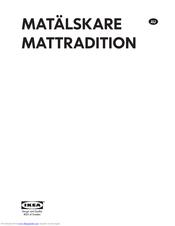 Ikea Mattradition Manuals