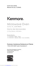 Kenmore 111.72219810 Use & Care Manual