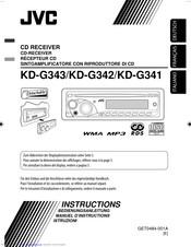 Jvc KD-G342 Manuals | ManualsLibManualsLib