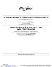 Whirlpool WRF954CIHV Use And Care Manual