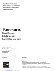 Kenmore W11123999C Installation Instructions Manual