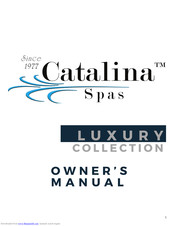 Catalina LUXURY COLLECTION Manuals