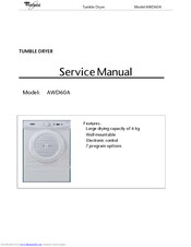 Whirlpool AWD60A Service Manual