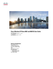 Cisco 8821-EX User Manual