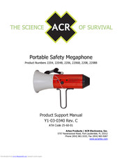 ACR Electronics 2204 Product Support Manual