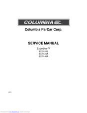 Columbia Parcar Expediter EX21-24S Manuals on