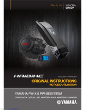 Yamaha PW-SE Original Instructions Manual